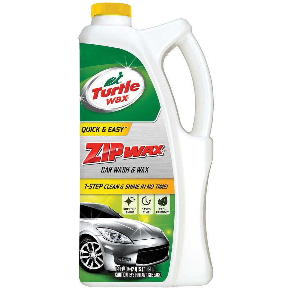TURTLE WAX 64 oz. Zip Wax Car Wash