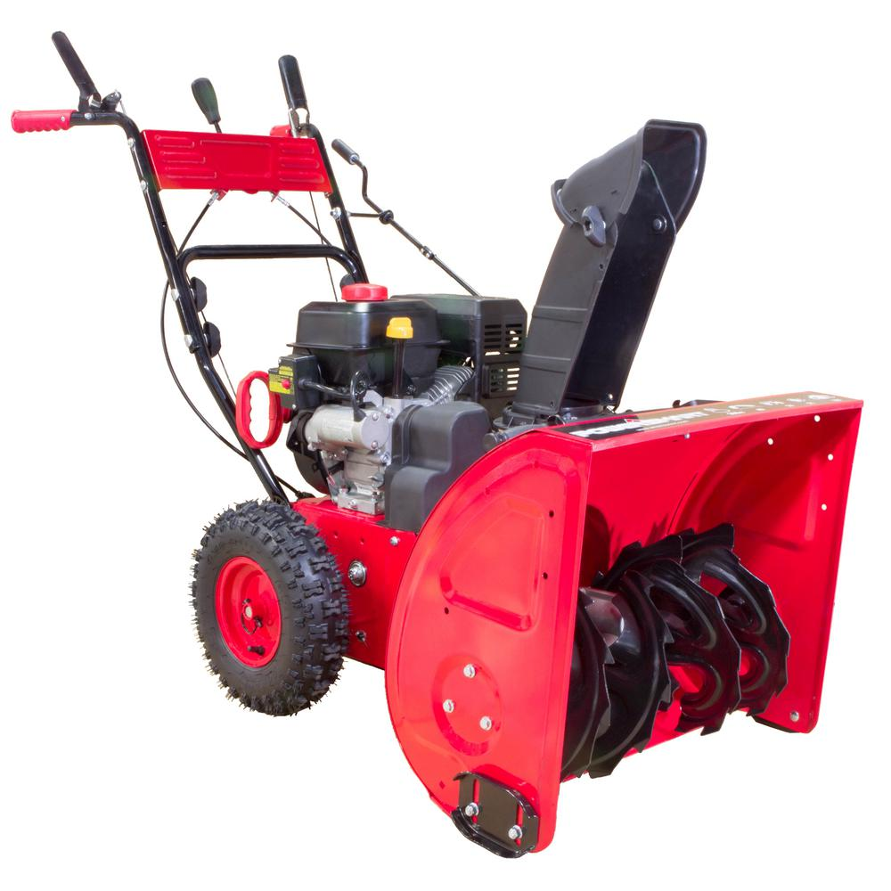 Two Stage Blower : Powersmart in cc stage gas snow blower db