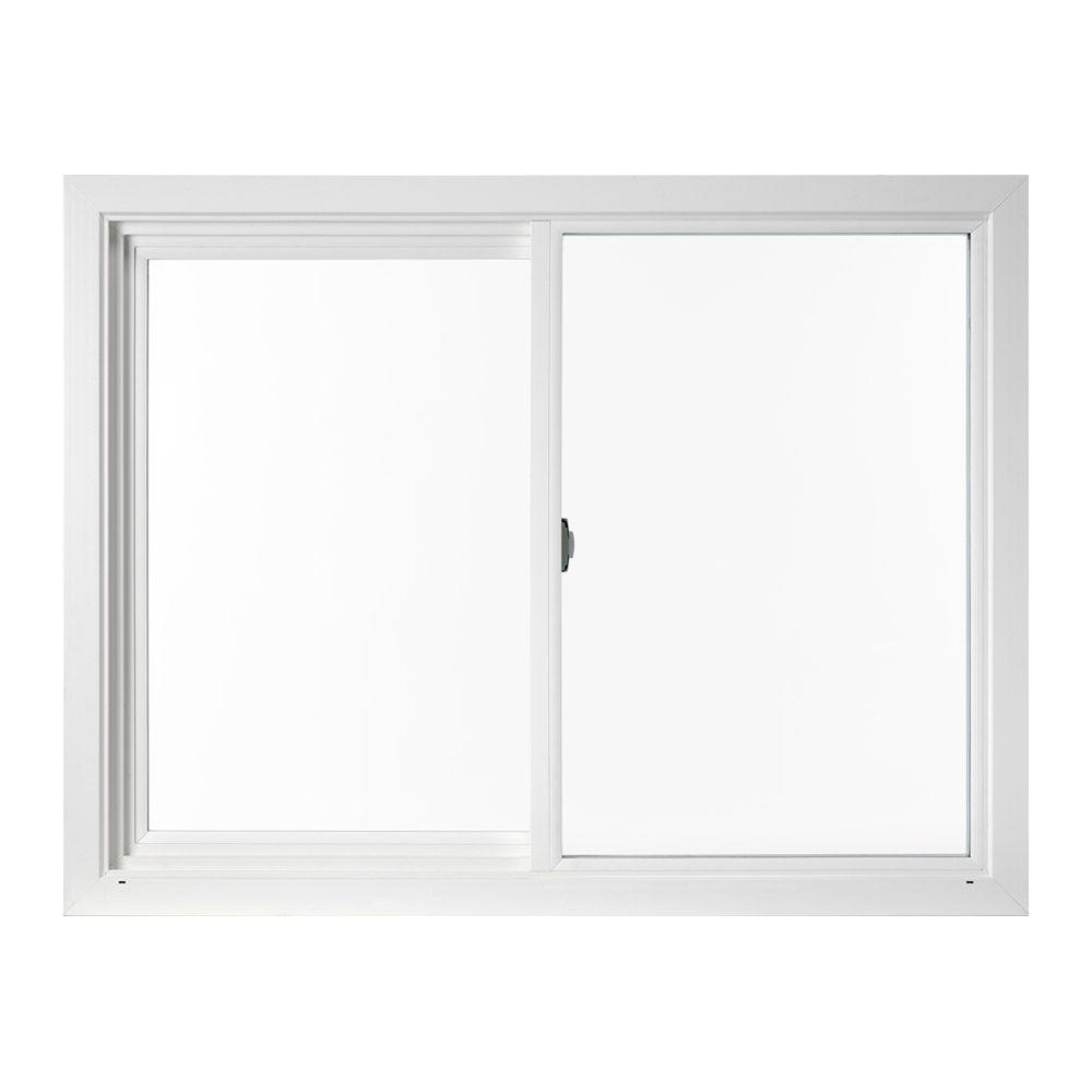 23.5 in. x 35.5 in. V-4500 Left-Hand Series Vinyl Screen Window