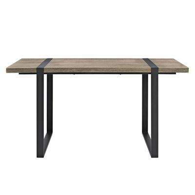 Urban Blend 60 in. Driftwood Wood Dining Table