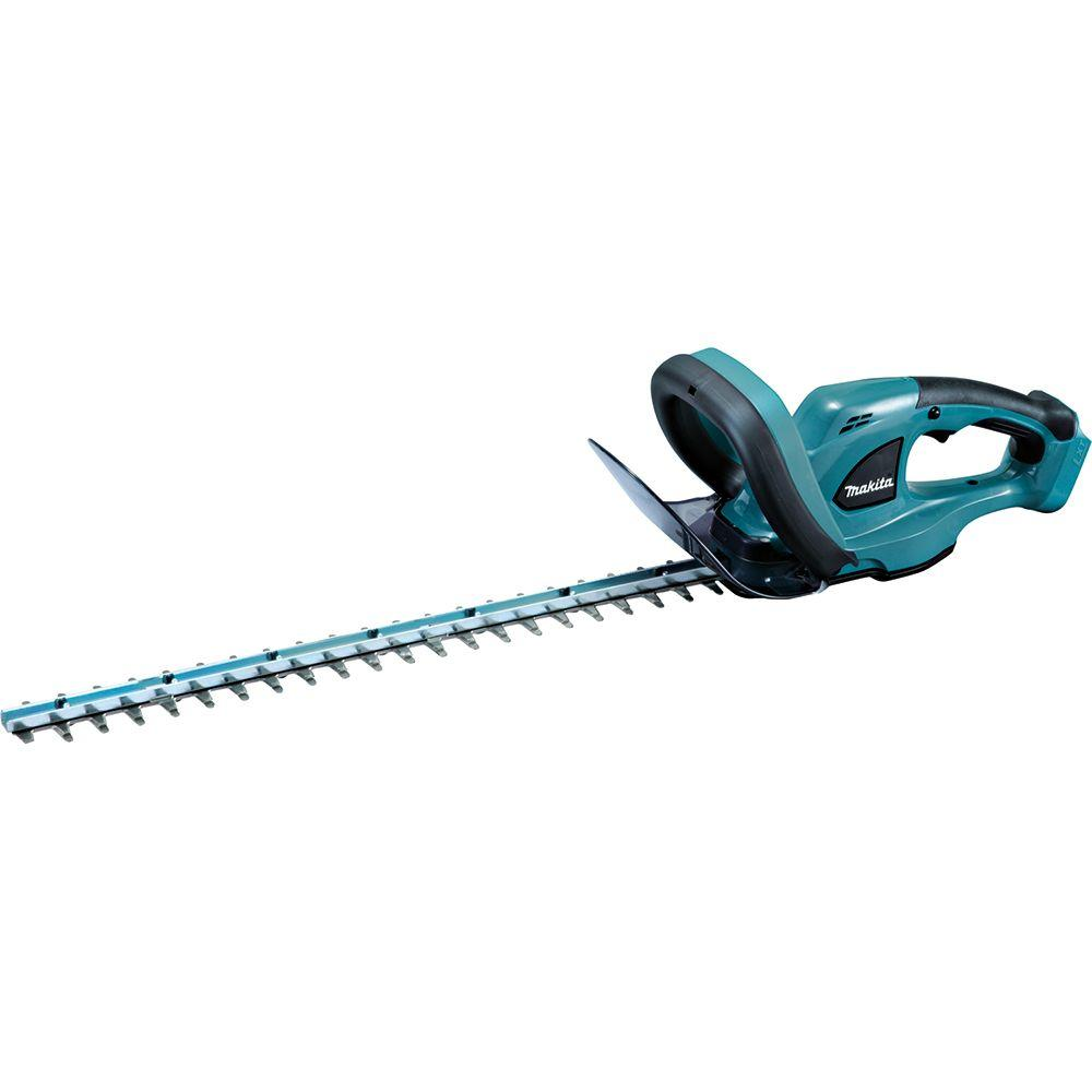 makita 22 in 18 volt lxt lithium ion cordless hedge trimmer tool only xhu02z the home depot. Black Bedroom Furniture Sets. Home Design Ideas