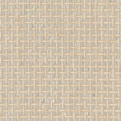 Tai Xi Cream Grasscloth Wallpaper Sample