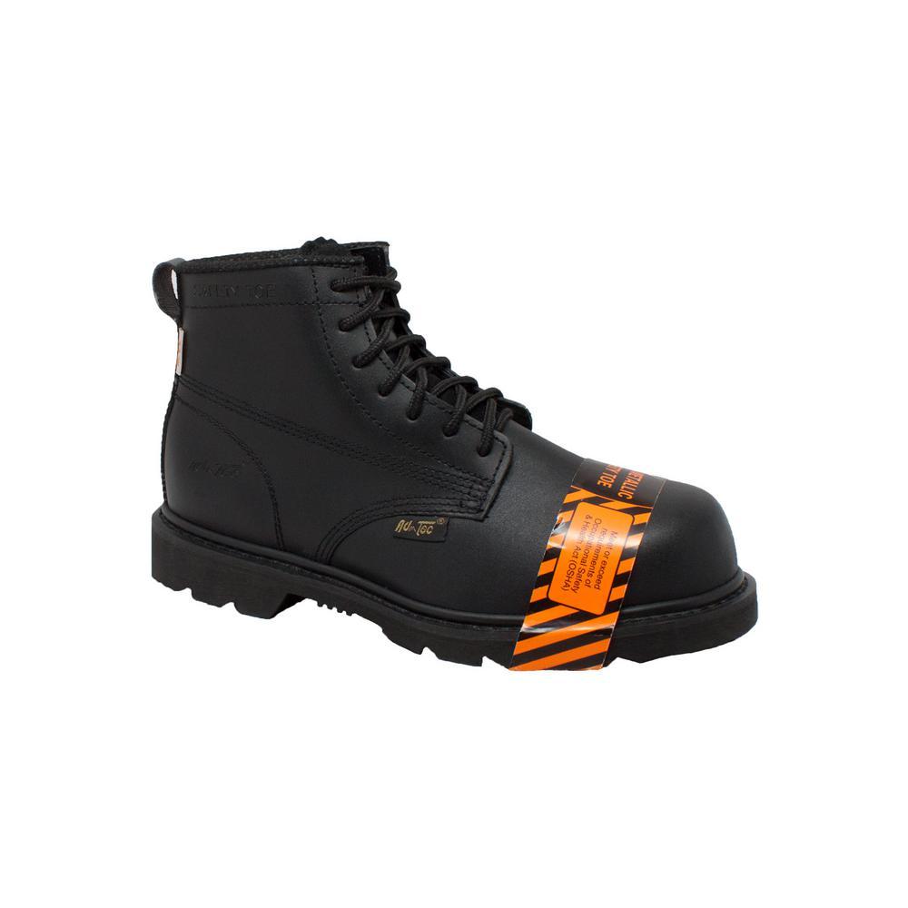 46fc913c806 Adtec Men's Medium 10 Black Leather Composite Toe Work Boot