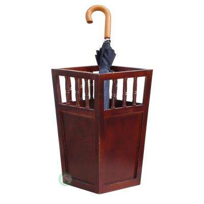 Roman Brown Umbrella Stand