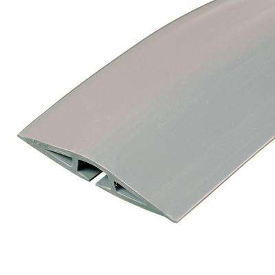 Corduct 5 ft. 1-Channel Over-Floor Cord Protector - Gray