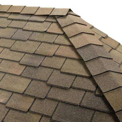 Timbertex Mountain Sage Hip and Ridge Shingles (20 linear ft. per Bundle)