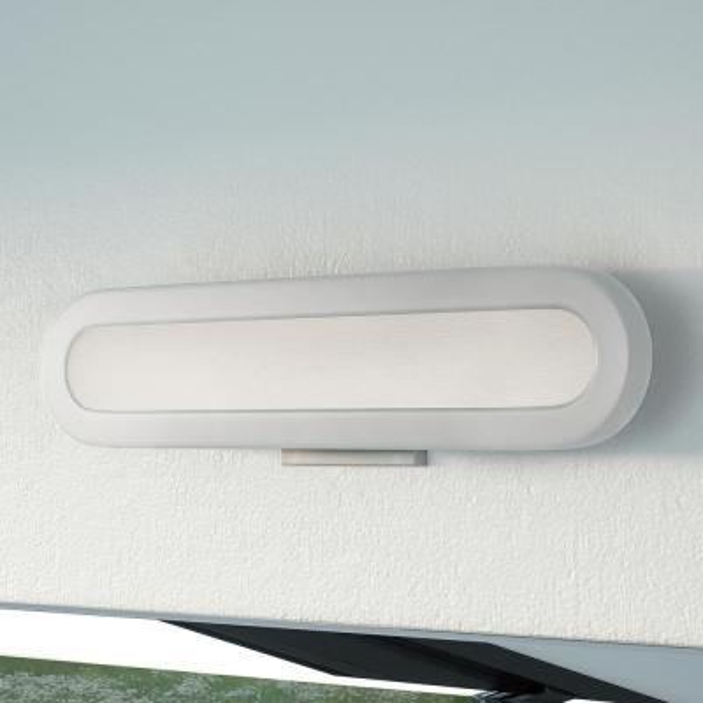 Procyon VMW12020AL 21 in. Silver LED Vanity and Bathroom Lighting Fixture