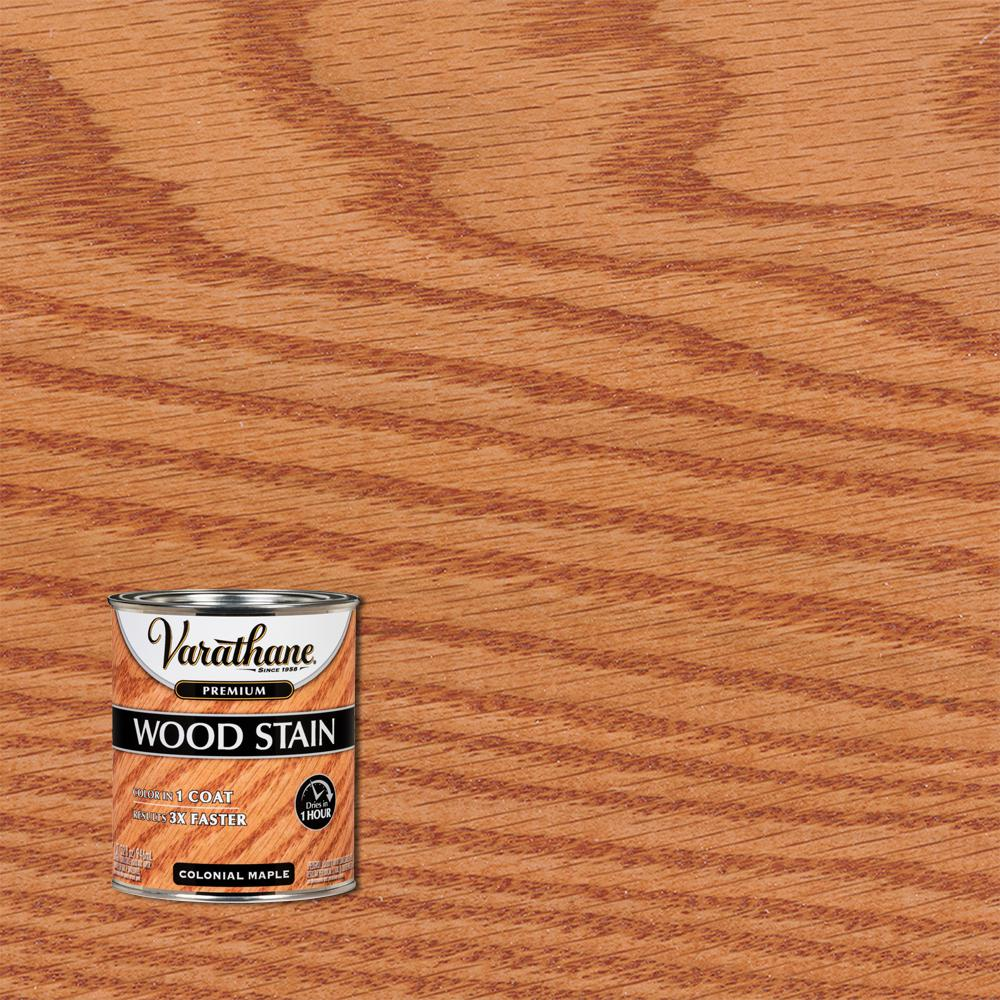 Varathane 1 qt. Colonial Maple Premium Fast Dry Interior Wood Stain (2-Pack)