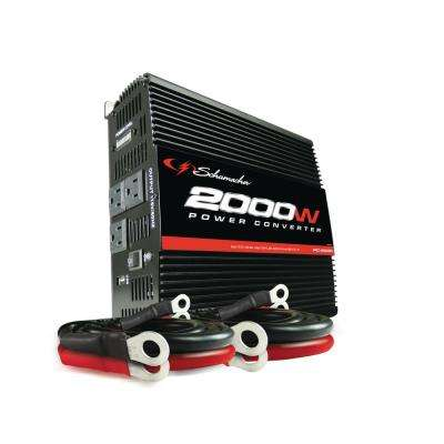 2000-Watt 12-Volt DC to 120-Volt AC Power Inverter