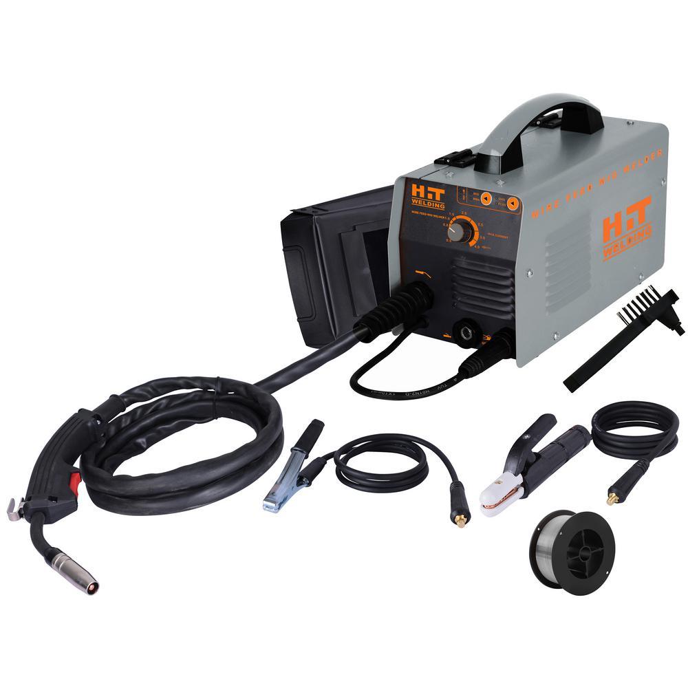 140 Amp 120-Volt Electric Flux-Cored, MIG, Arc, & TIG Multi-Process Welder Kit