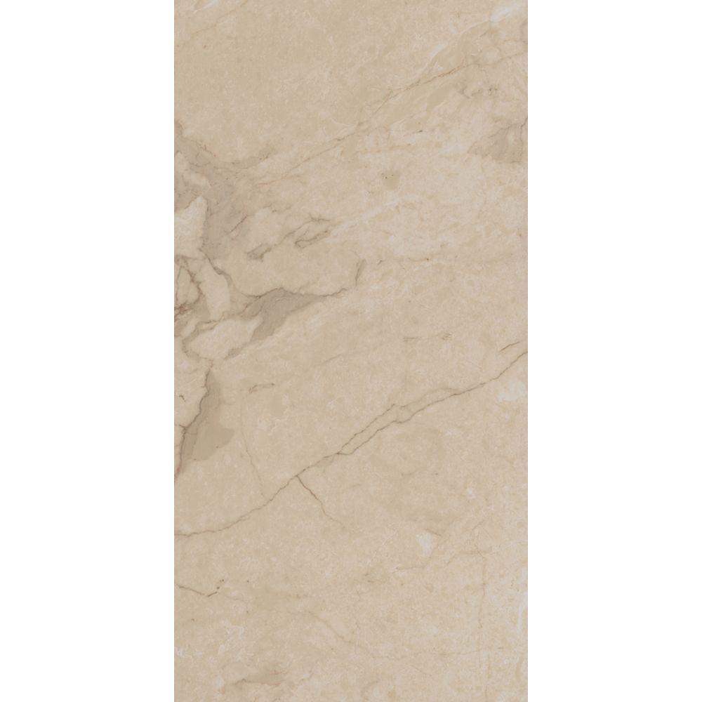 TrafficMASTER Allure Ultra 12 in. x 23.82 in. Carrara Cream Luxury Vinyl Tile Flooring (19.8 sq. ft. / case)