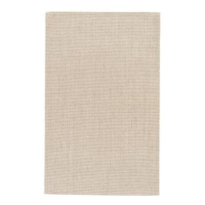 Natural Warm Sand 2 ft. x 3 ft. Solid Area Rug