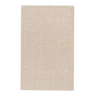 Natural Warm Sand 9 ft. x 12 ft. Solid Area Rug