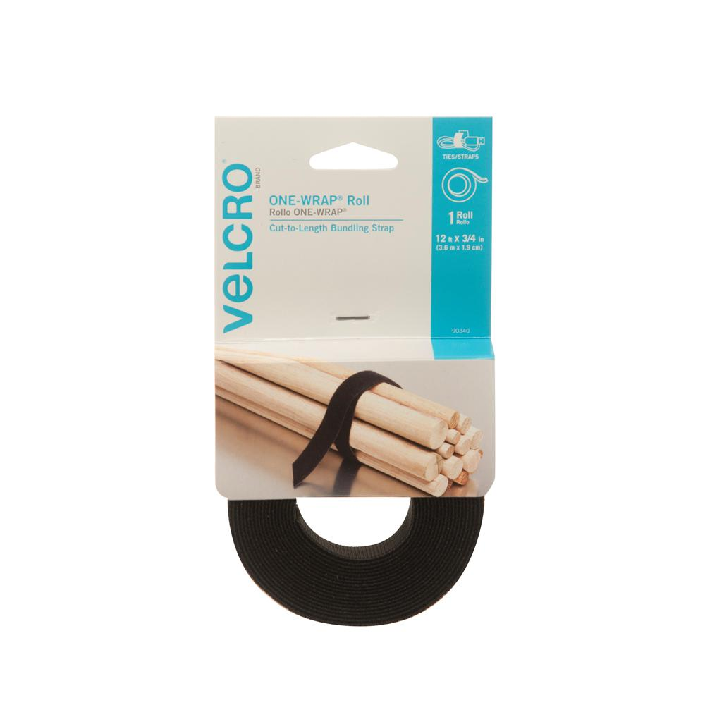 VELCRO Brand 12 ft. x 3/4 in. One-Wrap Strap