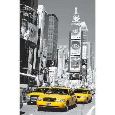 69 in. x 45 in. Times Square Wall Mural