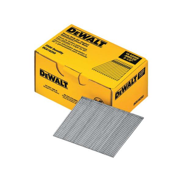 2-1/2 in. 16-Gauge Angled Finish Nails (2500-Pack)
