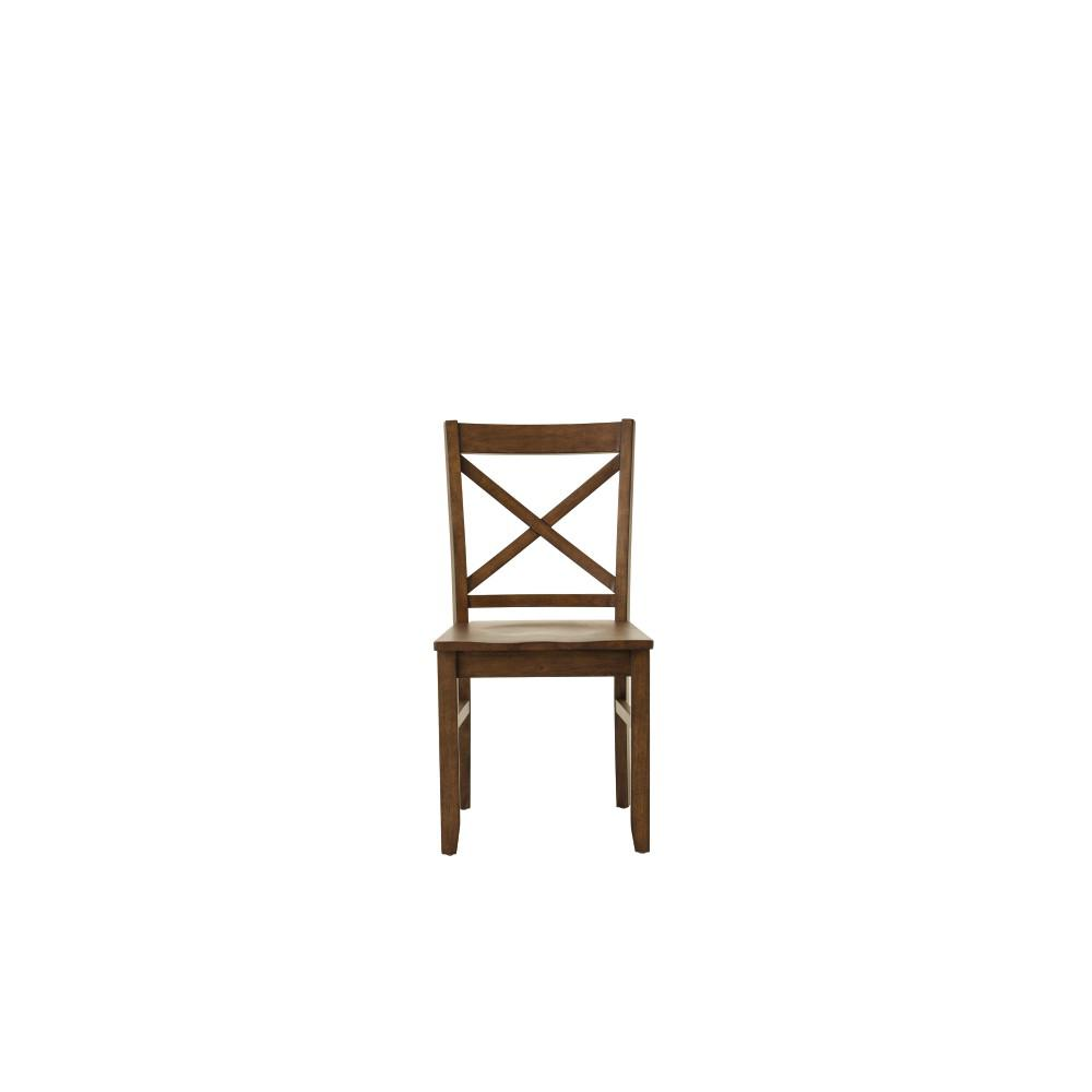 Home Decorators Collection Elena Autumn Walnut Dining Chairs (Set Of 2)