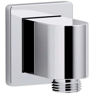 Awaken Wall-Mount Supply Elbow in Polished Chrome