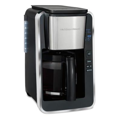 12-Cup Black Programmable Easy Access Deluxe Coffee Maker
