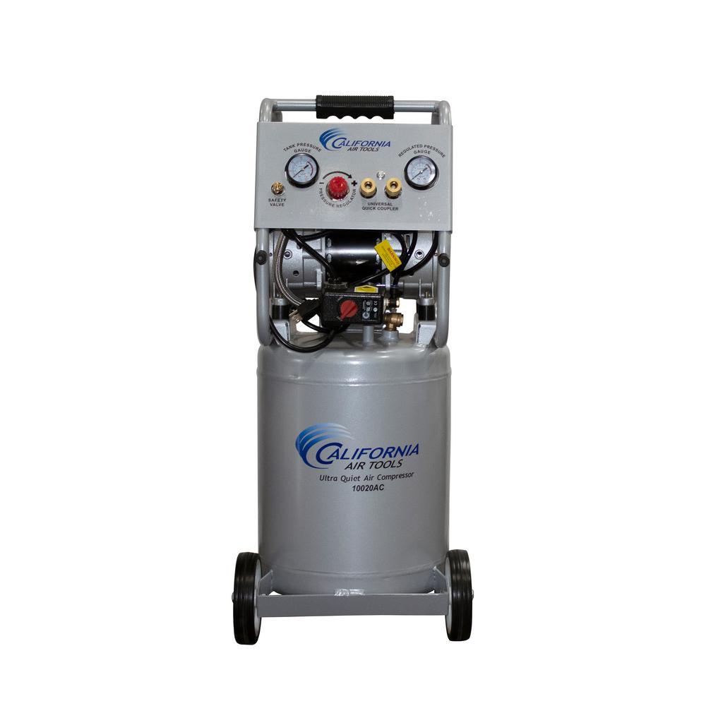 10 Gal. 2.0 HP Ultra Quiet and Oil-Free Aluminum Rust-Free Air Tank Electric Air Compressor