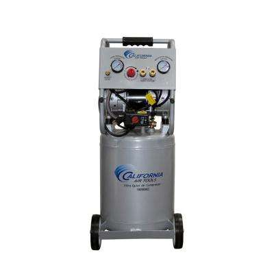 10 Gal. 2.0 HP Ultra Quiet and Oil-Free Aluminum Rust-Free Air Tank Electric Air Compressor