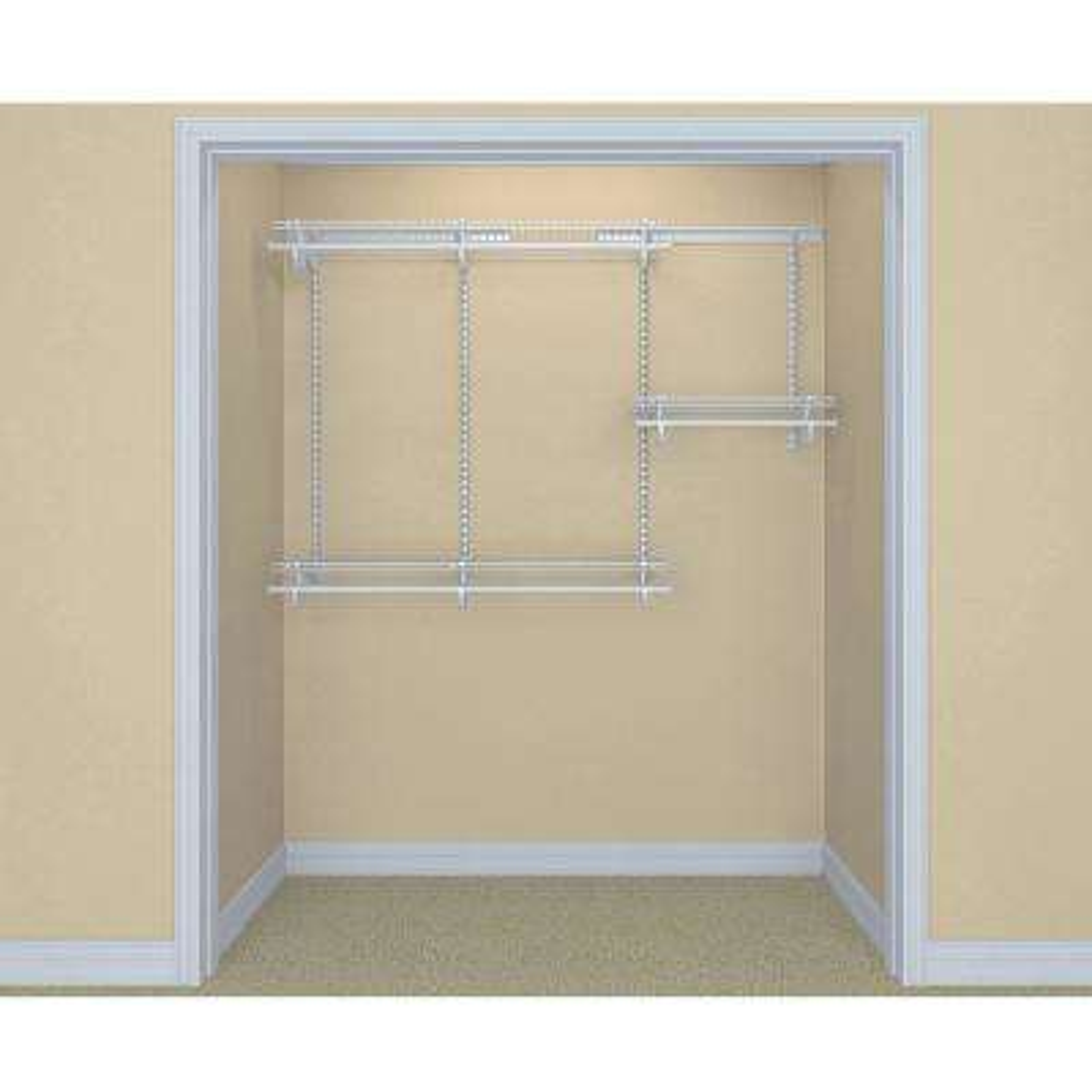 ShelfTrack 13 in. D x 72 in. W x 48 in. H Steel Closet System Organizer Kit