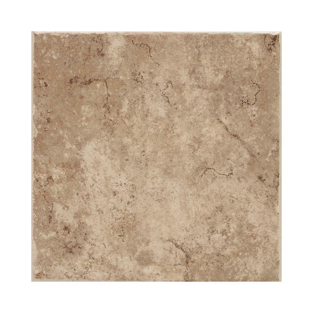 Daltile Fidenza 18 in. x 18 in. Cafe Porcelain Floor and Wall Tile (18 sq. ft. / Case)