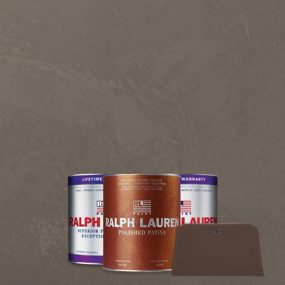 Ralph Lauren 1 qt. Silvered Pearl Pewter Polished Patina Interior Specialty Paint Kit