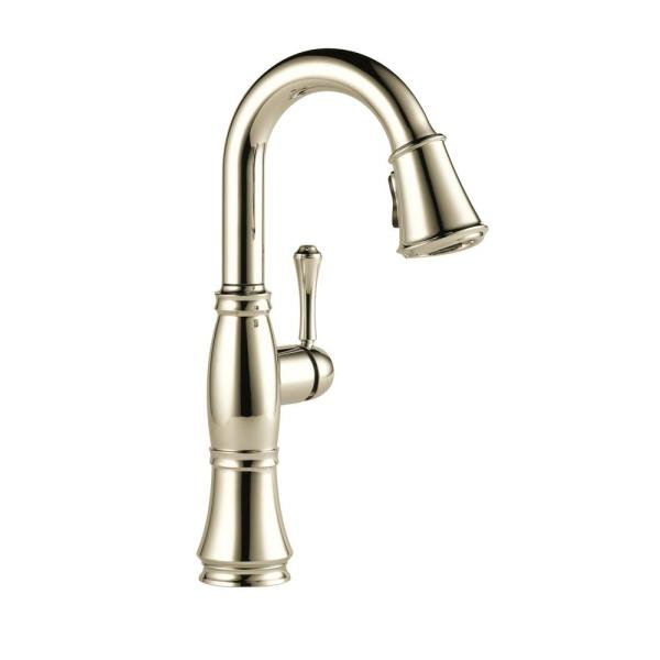 Cassidy Single-Handle Bar Faucet in Lumicoat Polished Nickel