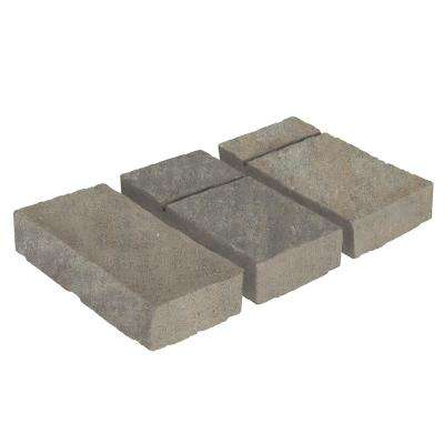 Domino 11.75 in. x 6 in. x 2.25 in. Victorian Blend Beige/Gray Concrete Paver (240 Pieces / 120 sq. ft. / Pallet)