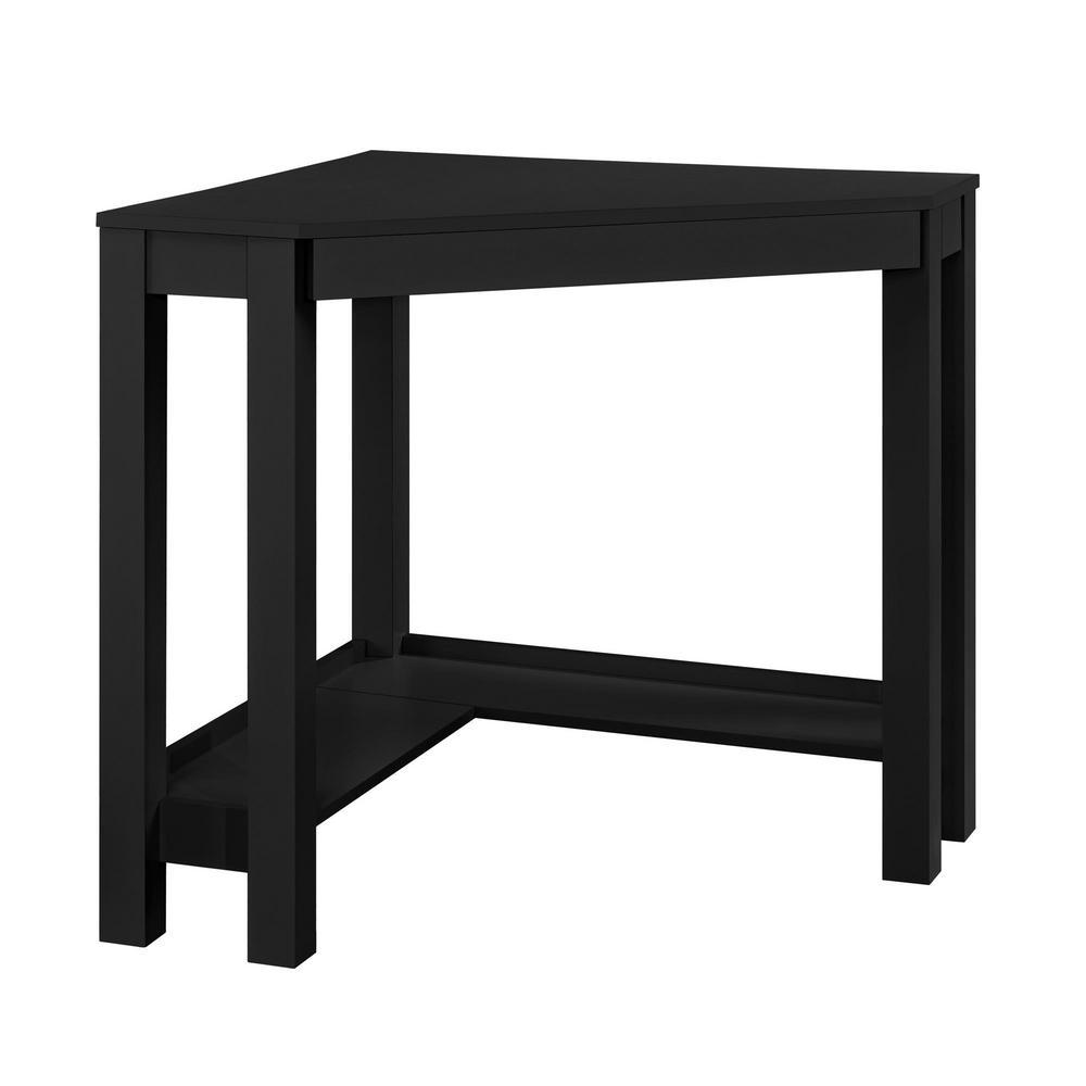 Nelson Black Corner Desk