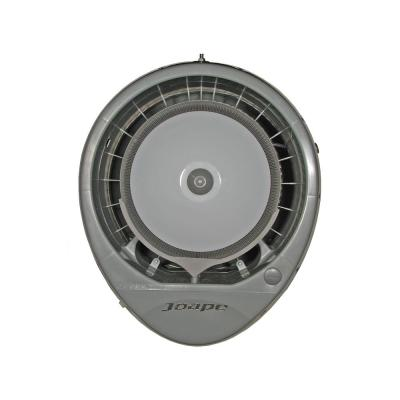 Cyclone 23 in. Wall Mount Misting Fan in Gray, Cools 800 sq. ft.