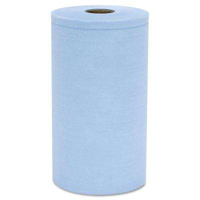 Prism Scrim 4-Ply Blue Reinforced Wipers (6-Rolls/Carton)