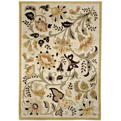 Devore Sunwashed Beige 5 ft. x 8 ft. Area Rug