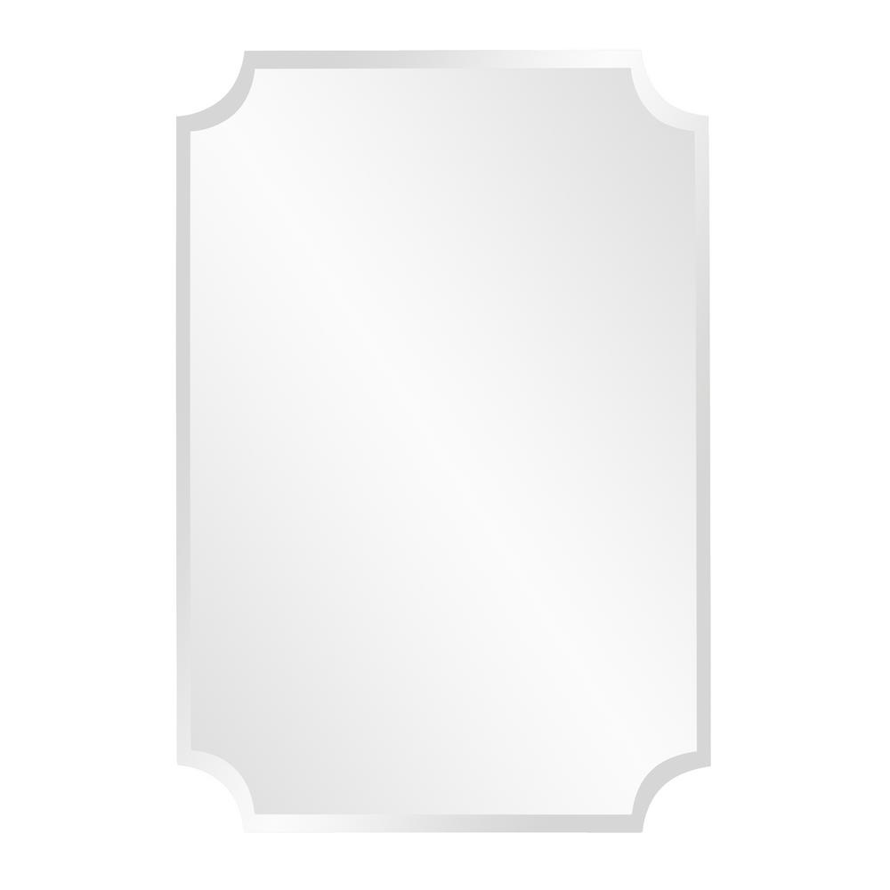 Howard Elliott 36 In X 24 In Rectangle Frameless Mirror
