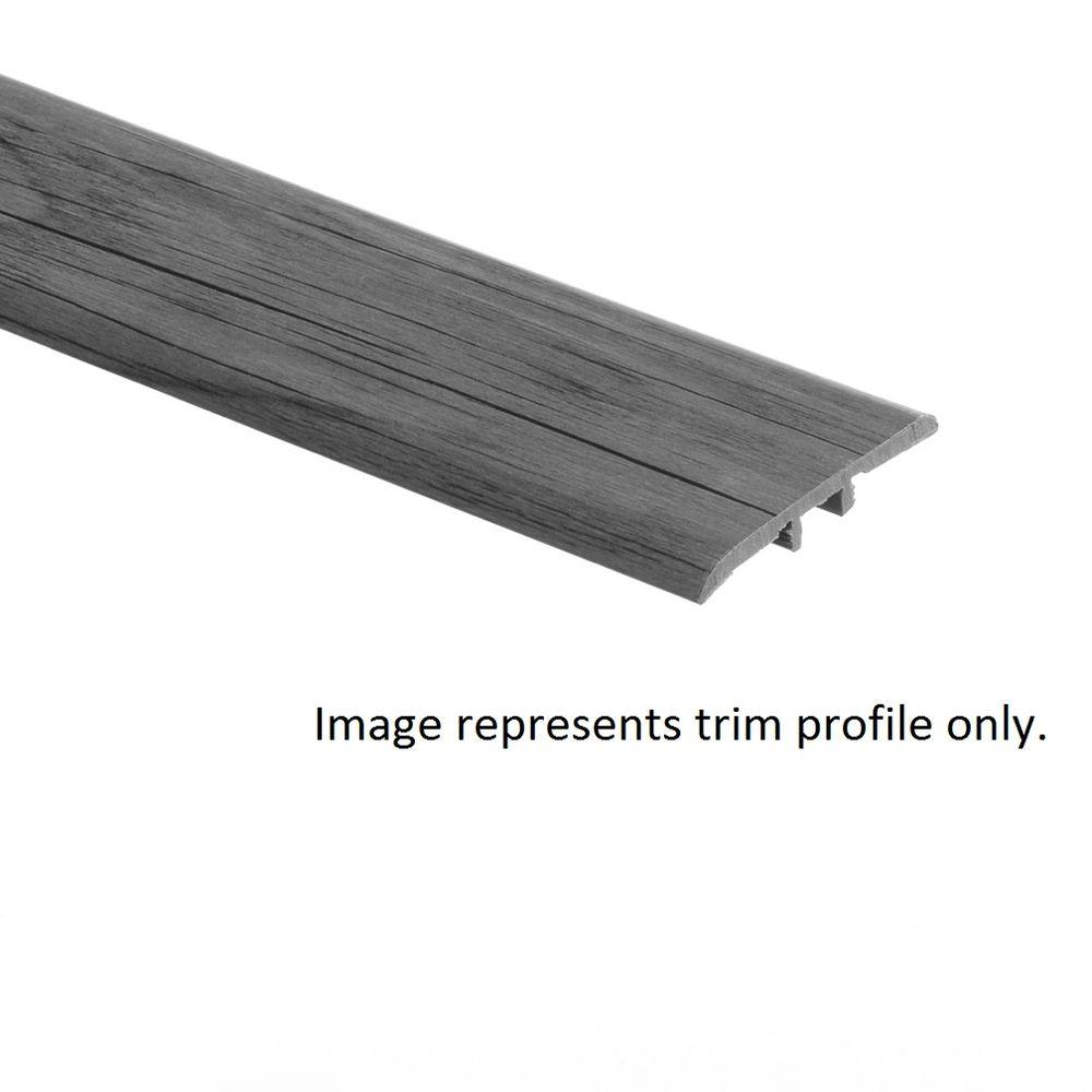 Zamma Normandy Oak Natural 5/16 in. Thick x 1-3/4 in. Wide x 72 in. Length Vinyl T-Molding