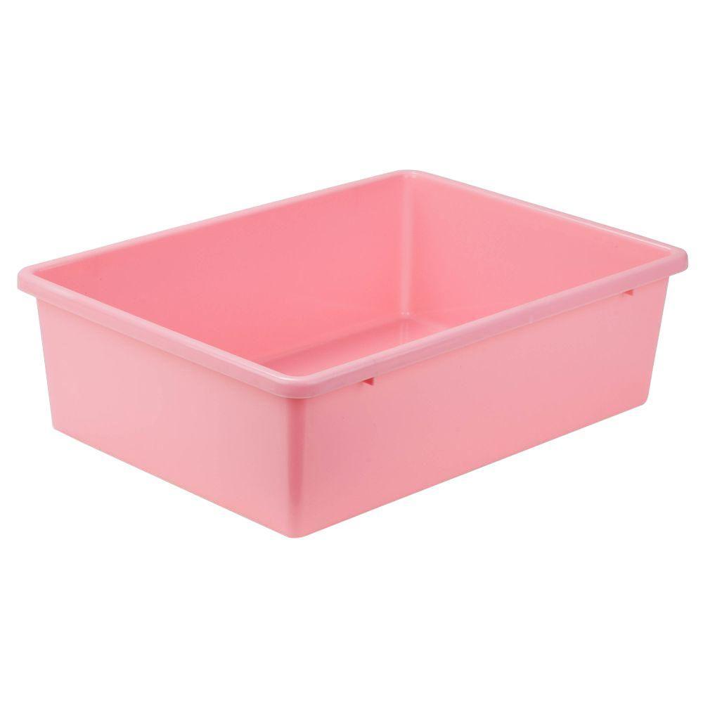 16.5-Qt. Storage Bin in Dark Pink