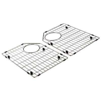 12.75 in. D x 16.5 in. W Sink Grid for FUDT32209 in Stainless Steel