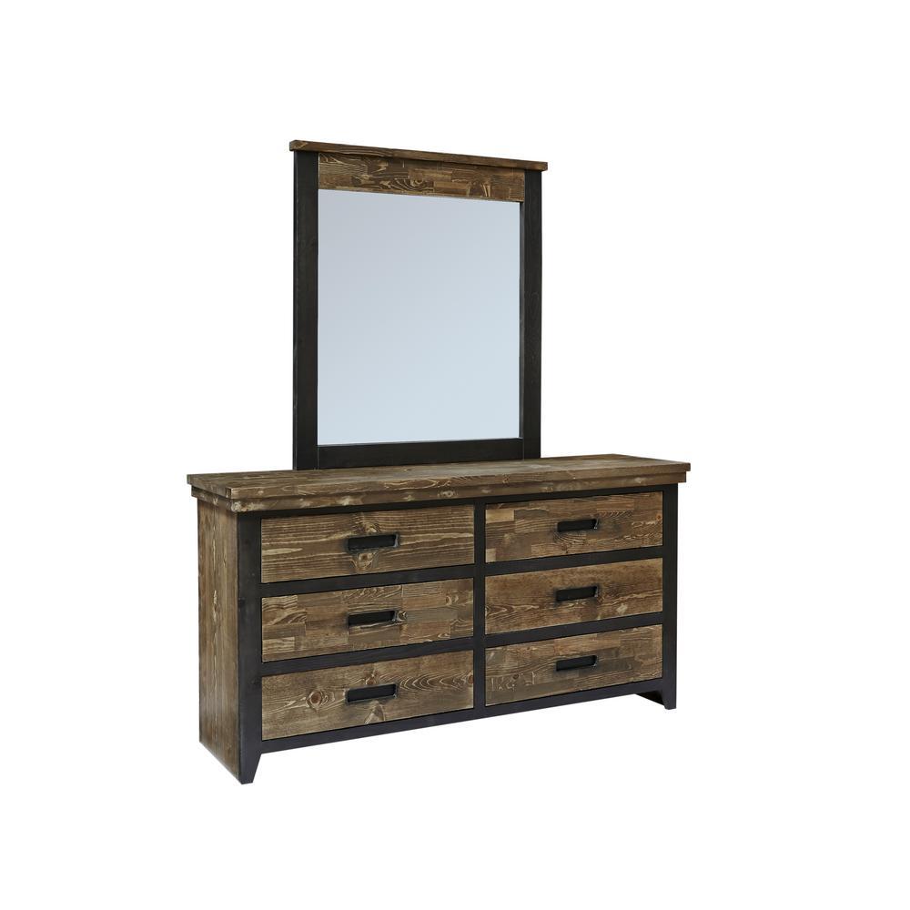 Progressive Furniture Renegade 6 Drawer