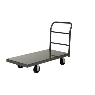 Steel Platform Truck with Rubber Casters