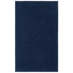 Nance Industries OurSpace Navy 4 ft. x 6 ft. Bright Accent Rug by Nance Industries
