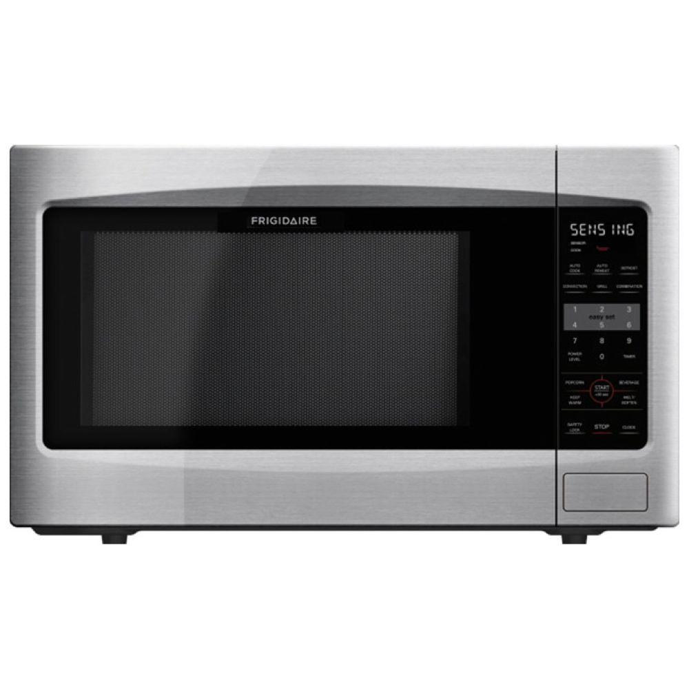Frigidaire 2 2 Cu Ft Countertop Microwave In Stainless