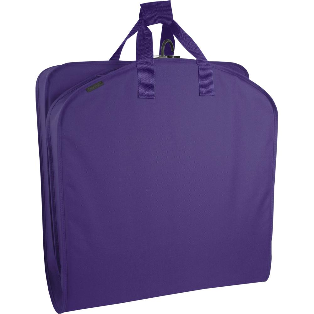45cd863224a9 WallyBags 40 in. Purple Suit Length Carry-On Garment Bag-756 PURPLE ...