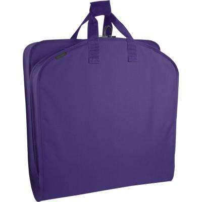 40 in. Purple Suit Length Carry-On Garment Bag
