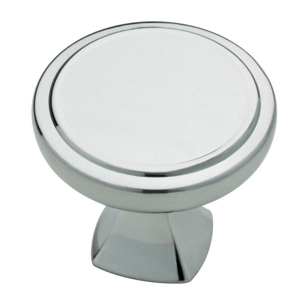 Ashtyn 1-1/16 in. (27 mm) Polished Chrome Round Cabinet Knob