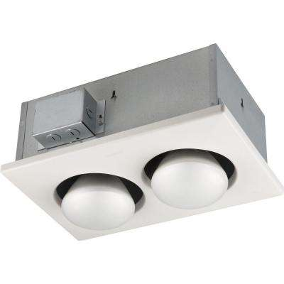 250-Watt Infrared 2-Bulb Ceiling Heater