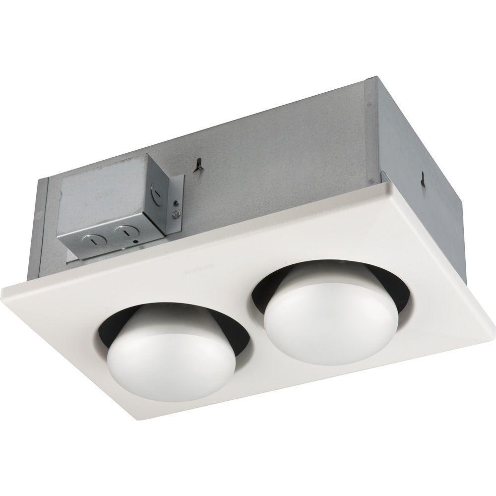 250-Watt Infrared 2-Bulb Ceiling Heater