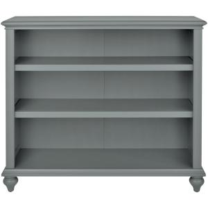 Home Decorators Collection Hamilton 3 Shelf Grey Open