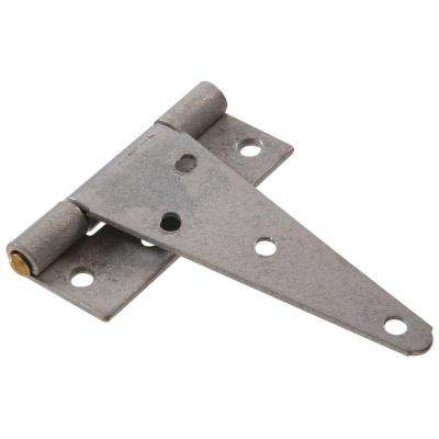 4 in. Heavy T-Hinge in Galvanized (5-Pack)