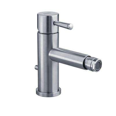 Serin Single Hole Single Handle Bidet Faucet in Polished Chrome